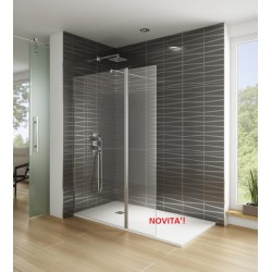 Shower tray in mineral...
